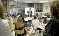 Qualified English teachers are in high demand – especially those who are native speakers.
