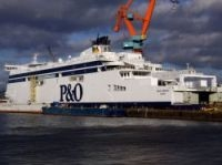The biggest ferry designed for the Dover Strait will enter service in January 2011