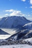 The resort of Alpe d'Huez is opening three weeks ahead of schedule after abundant snowfall