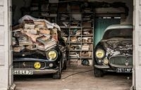 60 vintage models worth an estimated €16m were recovered from a barn in western France