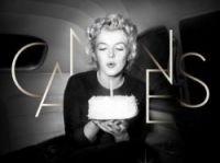 Marilyn's birthday cake marks Cannes anniversary