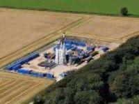 Shale gas drilling rig - Cuadrilla