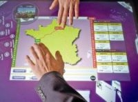 Touch-screen devices designed to make journey-planning easier