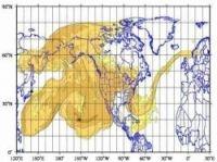 Meteo France radioactive cloud simulation