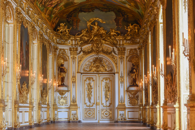 The Hotel de Toulouse - Banque de France - galerie Dorée © Banque de France Pascal Assailly, Jean Derennes