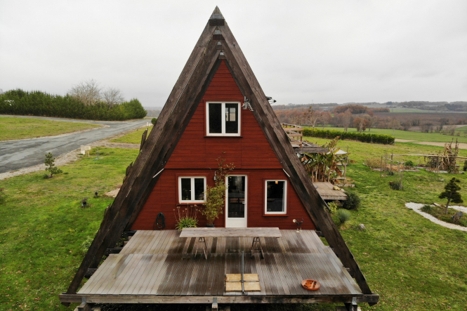 Une maison à ossature