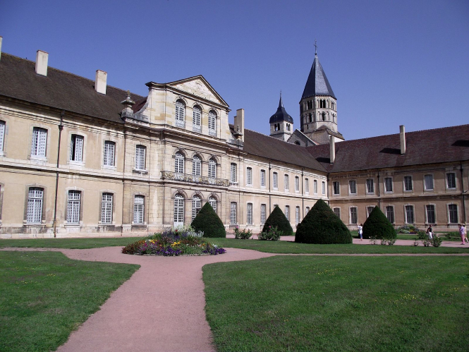 Benedictine abbey of Cluny