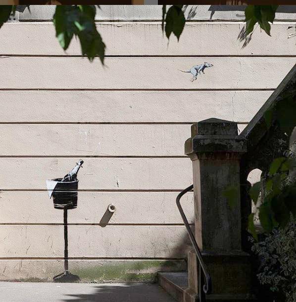 Banksy capture mouse