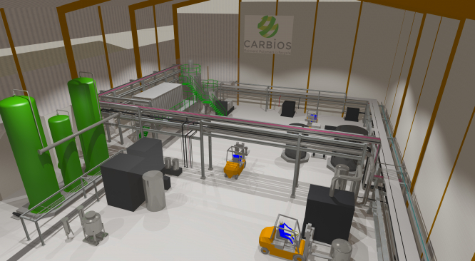 Carbios' factory plan