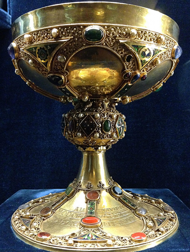 Chalice of St Remigius (Saint Remi) from the Palais du Tau in Reims