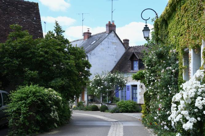 Chédigny village. (c) Christophe GAYE.