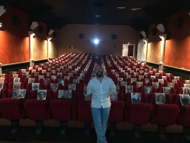 Cinéma Rex Bernay, Haute-Normandie.