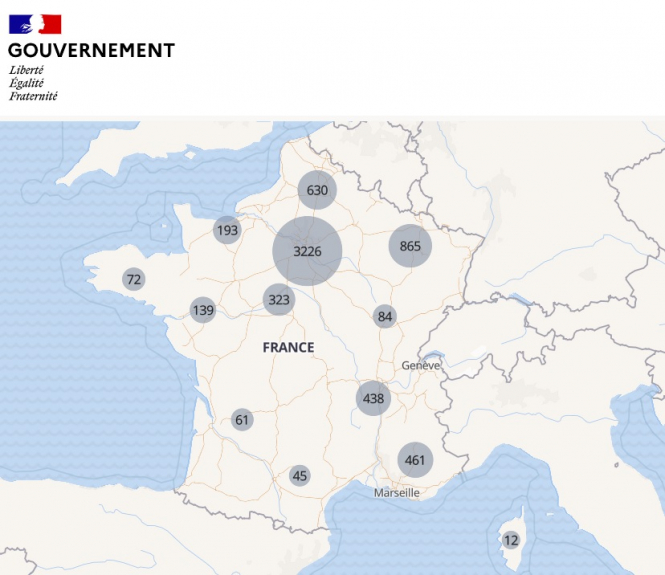 Coronavirus Which Parts Of France Are Seeing More Cases