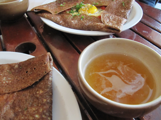 Crepes and cider