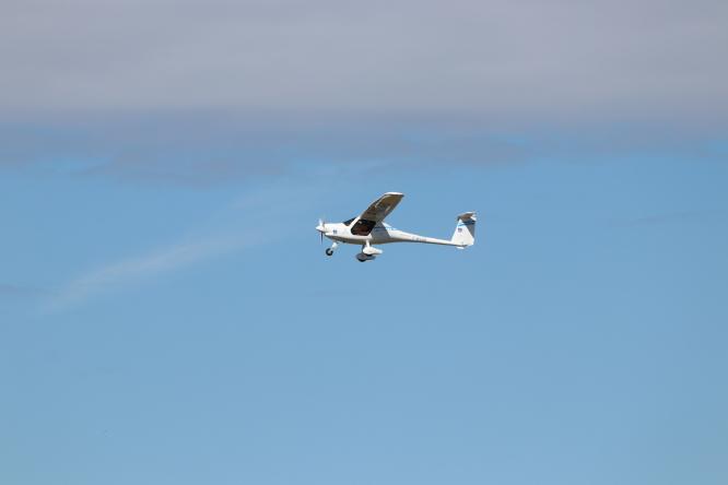 """Electric plane """"Pipistrello"""""""