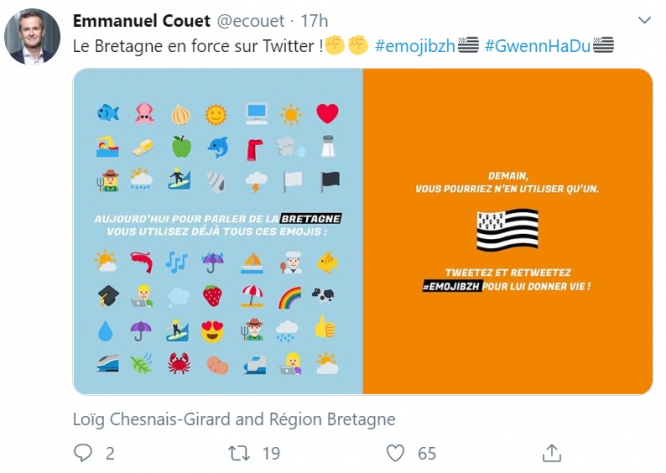 Breton Flag Now On Twitter Amid Campaign Push For More