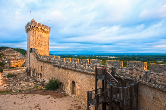 fortress/chateau of Beaucaire
