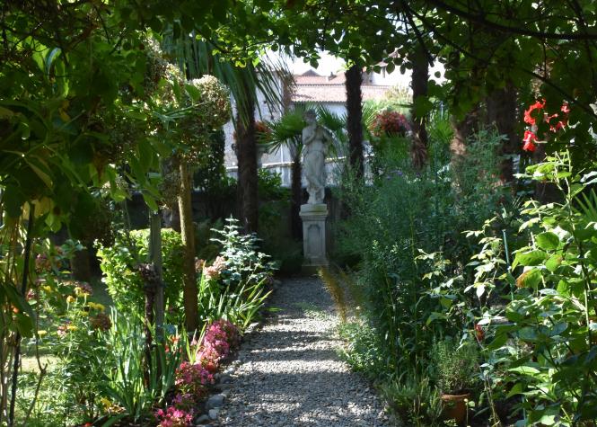 Garden Maubourguet, Tarbes, France.