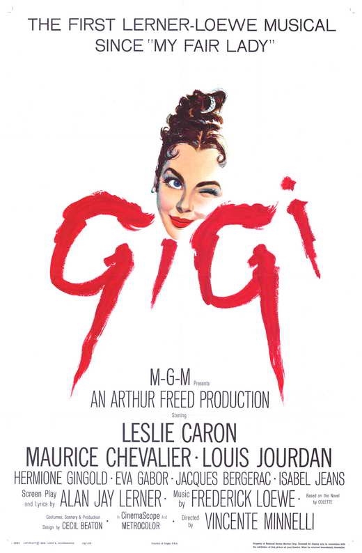 Gigi movie poster Colette