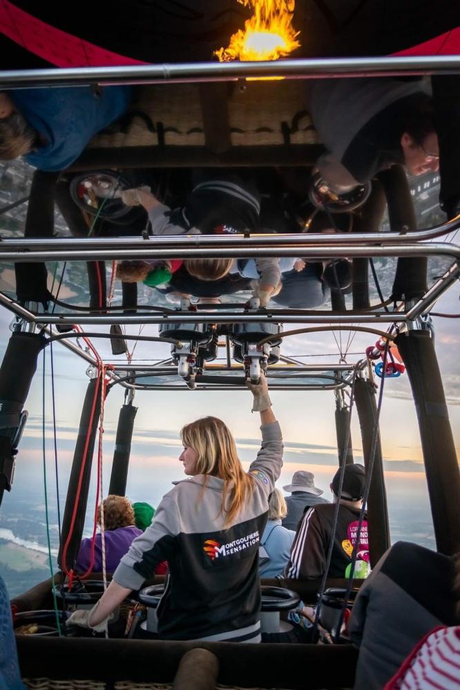 Hot air balloon pilot