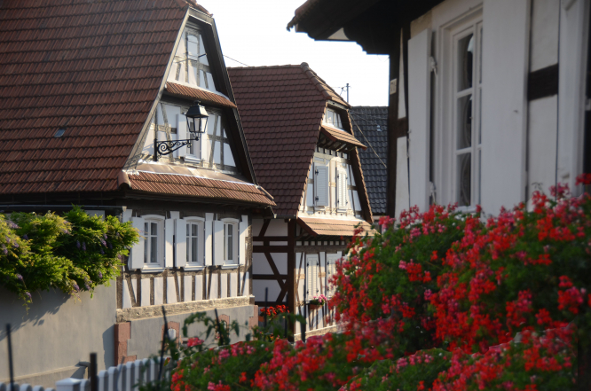 A house in Hunspach, France. Uncredited.