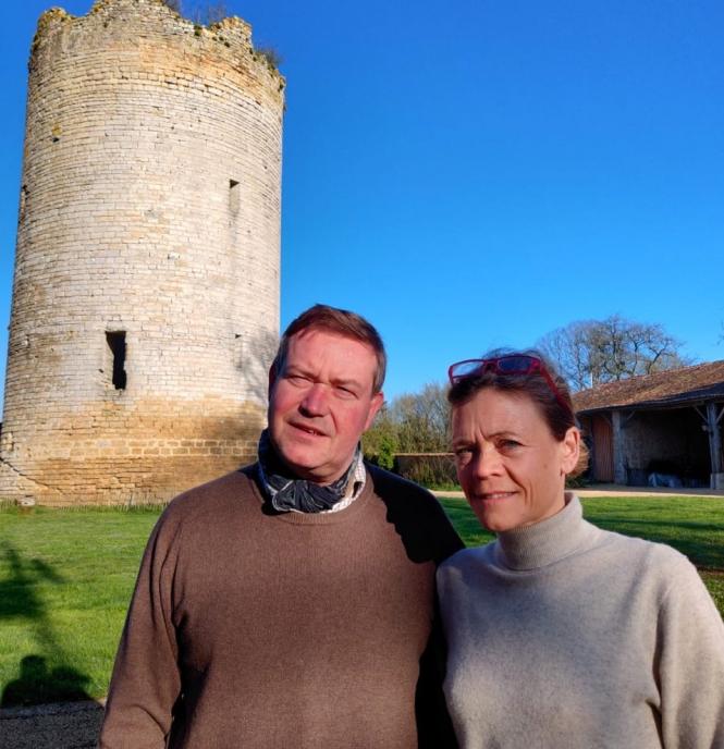 Isabelle et Jérôme Dupont.