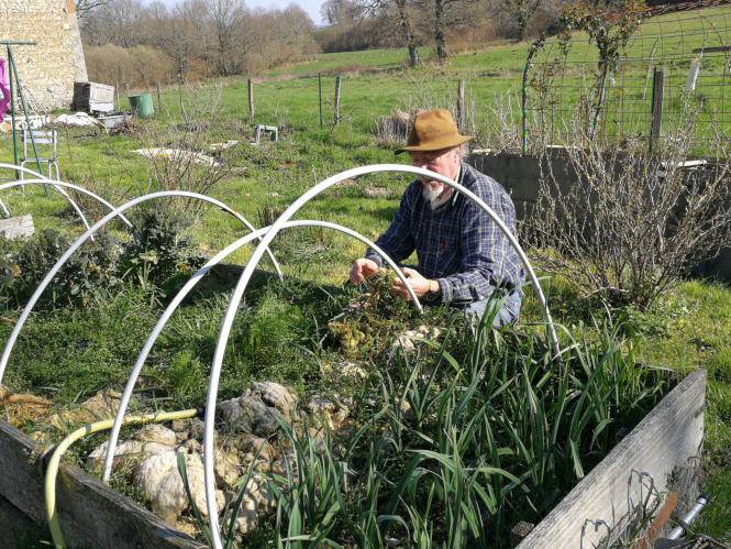 Laurent Willig, 'the sitting gardener'