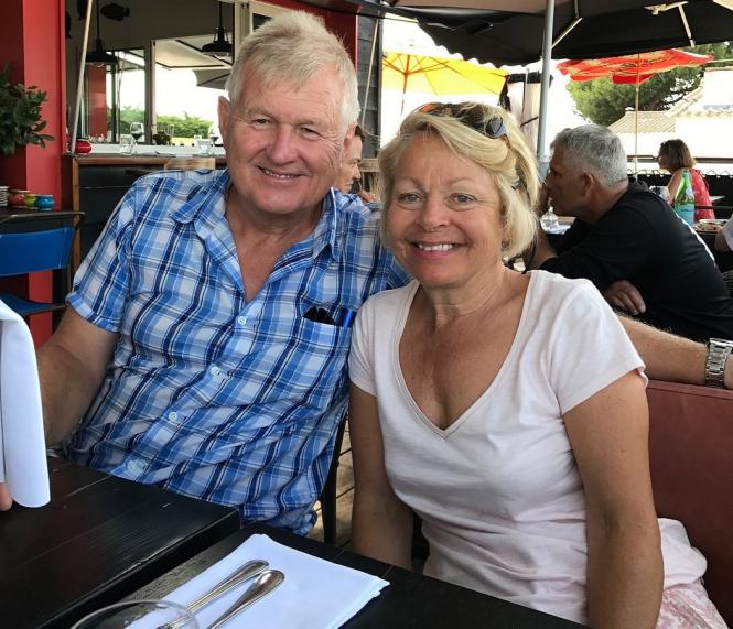 Nigel and Fiona St George