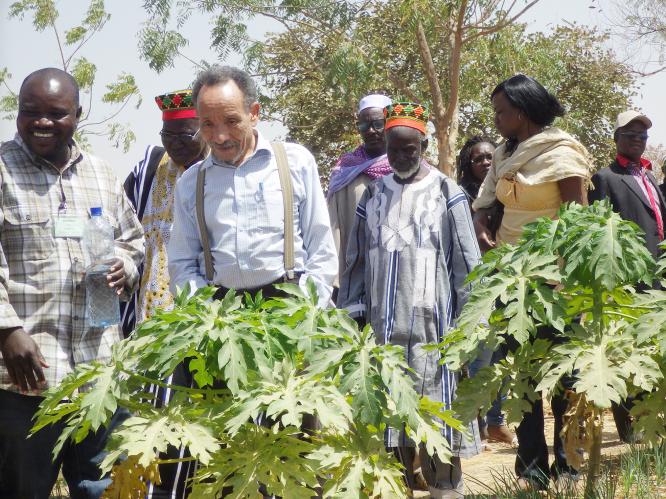 Pierre Rabhi in Burkina Faso