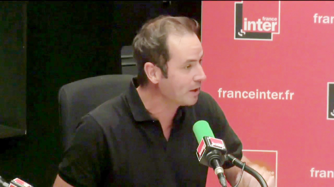 Tanguy Pastureau on radio