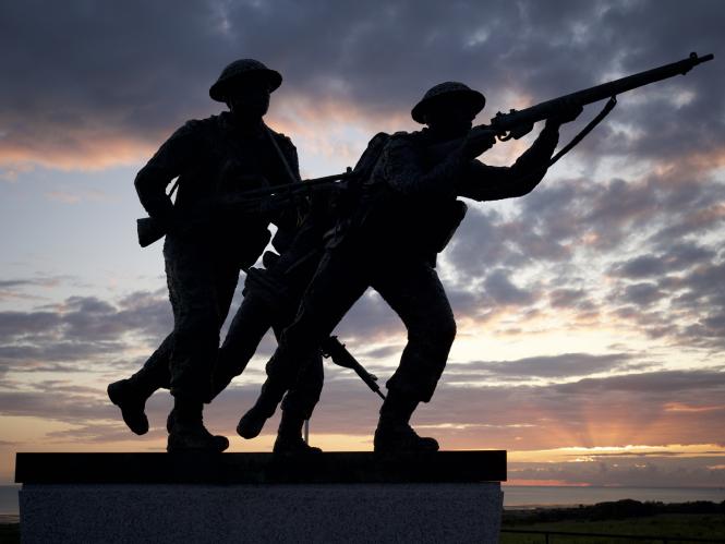 The British Memorial in Normandy