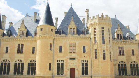 The Château de Montaigne.