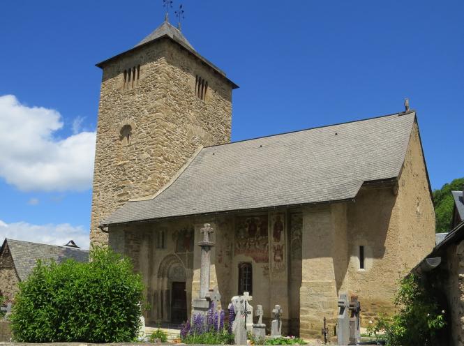 The church of Saint-Barthélemy