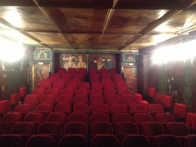 The Comédie-Italienne theatre, Paris, France.
