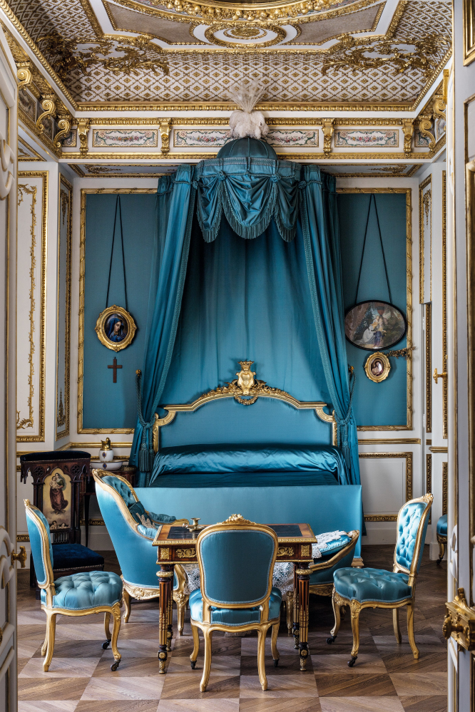 The Duchess of Aumale's bedroom