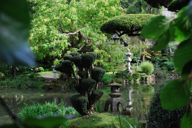 The gardens were created in the late 19th century and early 20th century.