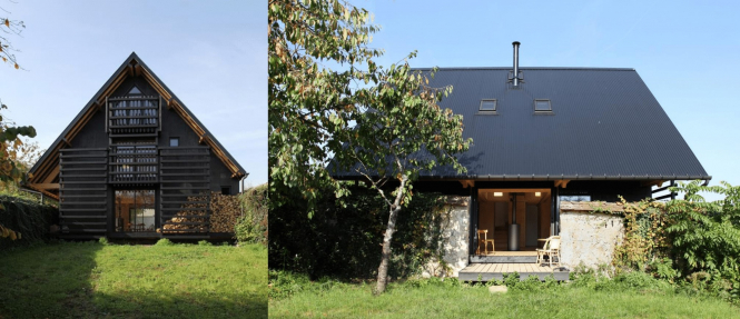 Thomery near Fontainebleau, Seine-et-Marne, won an award under the contemporary constructions heading.