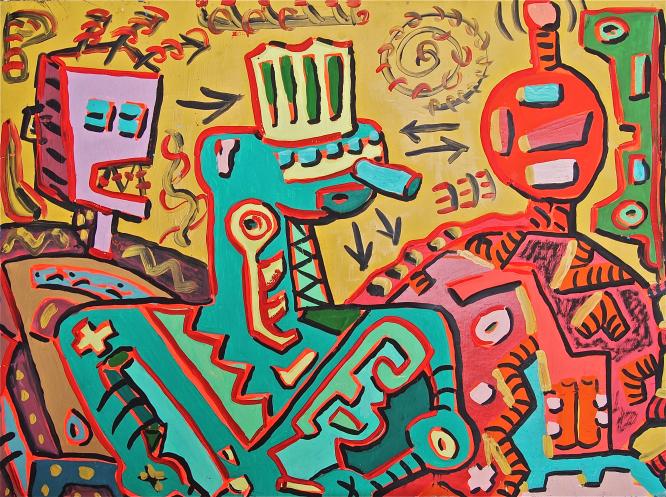 Valery Alakhov 'Extraterrestres', 1986