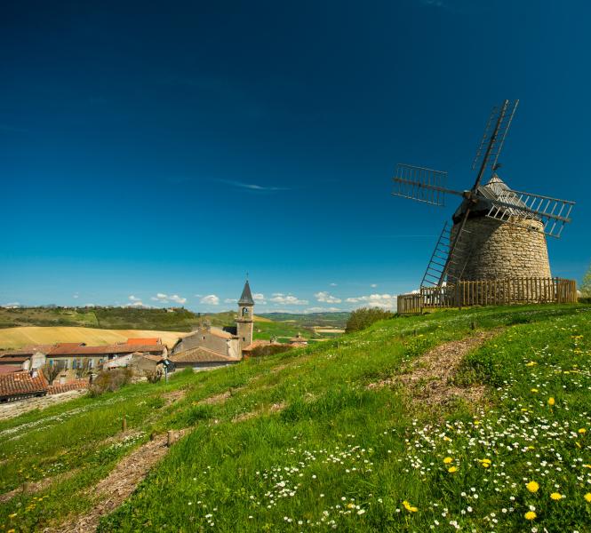 Windmill in Lautrec