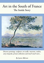 Art in the South of France book by Lynne Alderson
