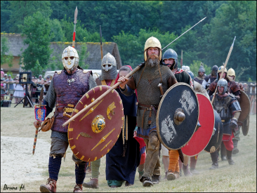 Historical re-enactment can be a costly hobby