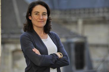 Cécile Pierre, the executive director of the Association de la Visite d'Entreprise