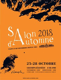 Poster Salon Automne 2018 Paris