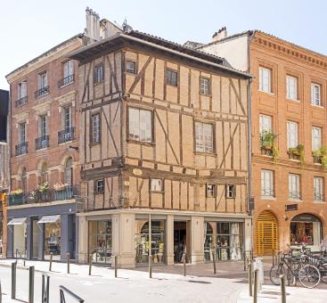 Toulouse building 1 rue des Arts