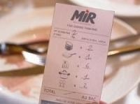 Marketing stunt saw restaurant bills expressed in plates, pans and cutlery instead of euros
