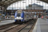 Striking rail workers have blockaded Gare de Lille-Flandres on the second day of their strike