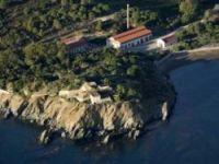 The site has a beautiful coastal setting