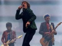 Mick Jagger and the Stones at Glastonbury – Photo: AFP