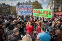 The Roma Pride march in Paris last October