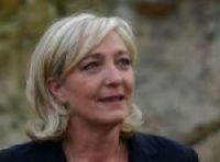 Front National president Marine Le Pen